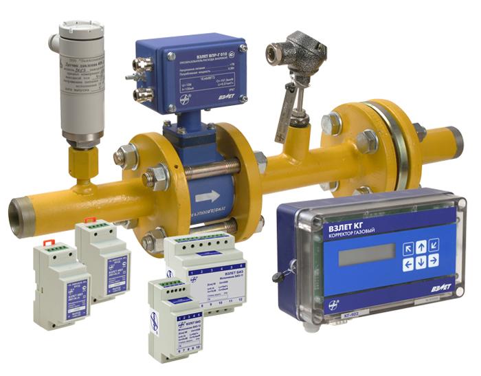 Измерительный комплекс учета расхода газа Поток-1600-0,52-Л(П)